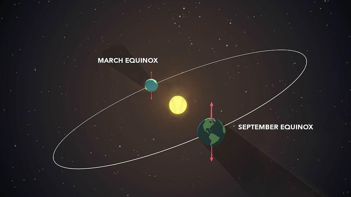 Equinox : सैकड़ों लोगों ने देखा सूर्य को करवट लेते, जानिये एक साल में कितनी बार होता है एक्विनॉक्स
