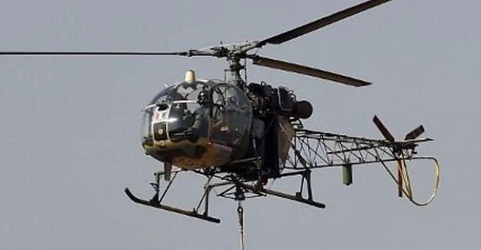 पुराने हो रहे हैं चीता और चेतक हेलीकॉप्टर, सैन्यबलों ने जतायी चिंता