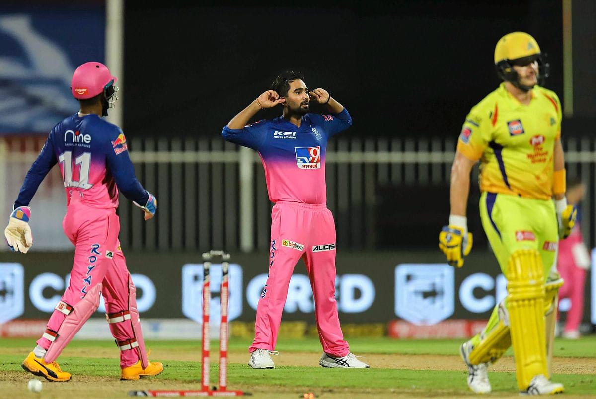 IPL 2020, RR vs CSK Latest Update : सैमसन के तूफान में उड़ी धौनी की टीम चेन्नई, राजस्थान की 'रॉयल' जीत