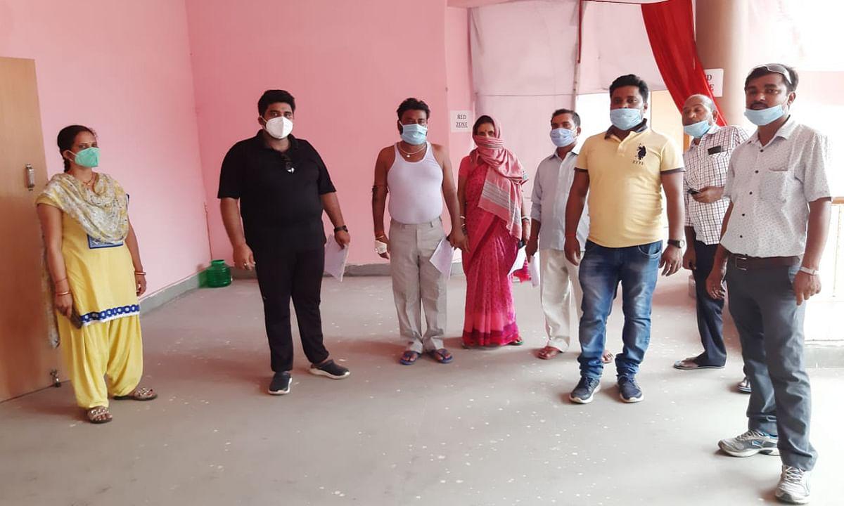 जिले में 14 नये काेरोना संक्रमित मिले, 5 हुए स्वस्थ, एक्टिव केस की संख्या हुई 75
