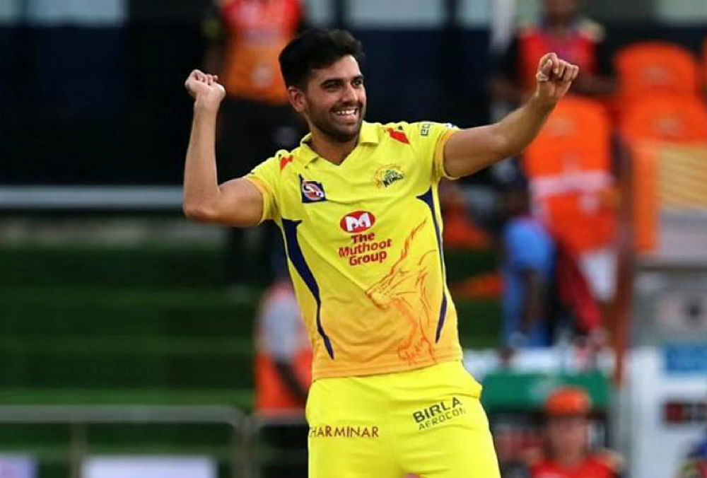 IPL 2020: कोरोना को मात देने के बाद दीपक चाहर ने 'बायो बबल' में किया प्रवेश, बीसीसीआई ने दी नेट प्रैक्टिस की अनुमति