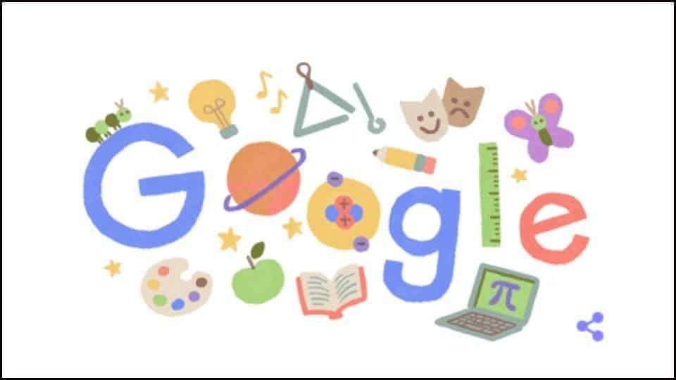 google doodle on teachers day 2020