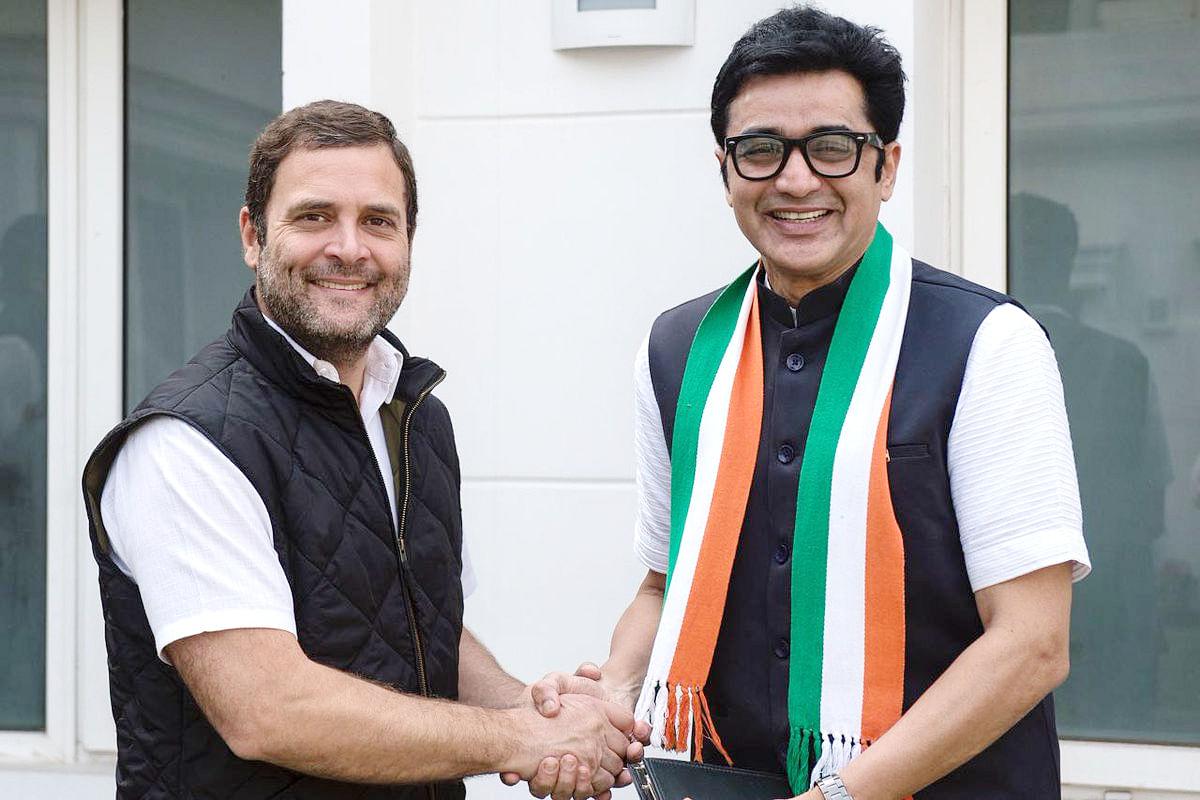 डॉ अजय कुमार कांग्रेस में लौटे, लोकसभा चुनाव के बाद आम आदमी पार्टी में हो गये थे शामिल