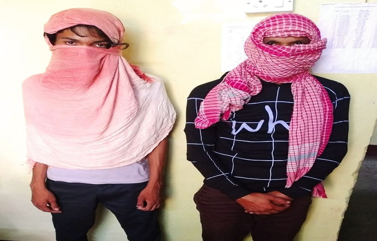 नारायणपुर के लोकनियां से 2 साइबर क्रिमिनल गिरफ्तार, सिम और एटीएम कार्ड समेत अन्य सामान बरामद