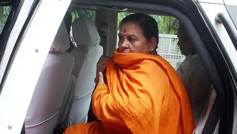 Coronavirus: पहाड़ की यात्रा पर गईं BJP नेता उमा भारती कोरोना पॉजिटिव, साधु संतों के लिए कही ये बात