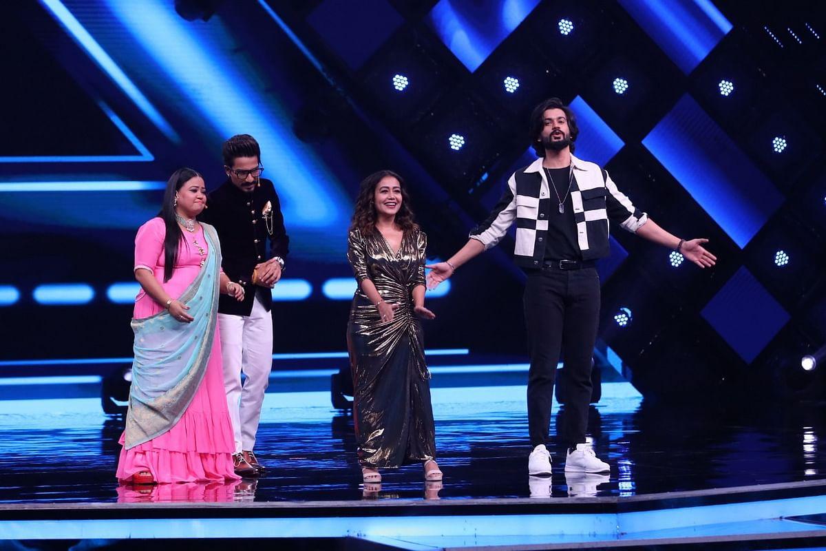 Neha Kakkar and Sunny Kaushal in India's Best Dancer
