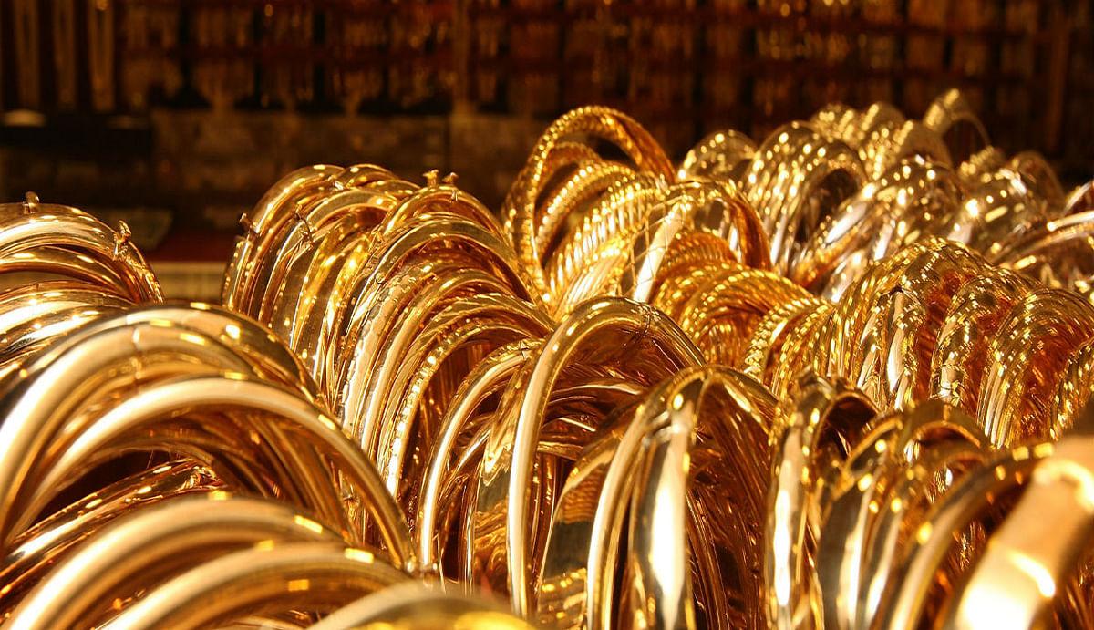 Gold rate today in India : धनतेरस ने बढ़ाया सोने का भाव , जानिए आज कितना रहा रेट