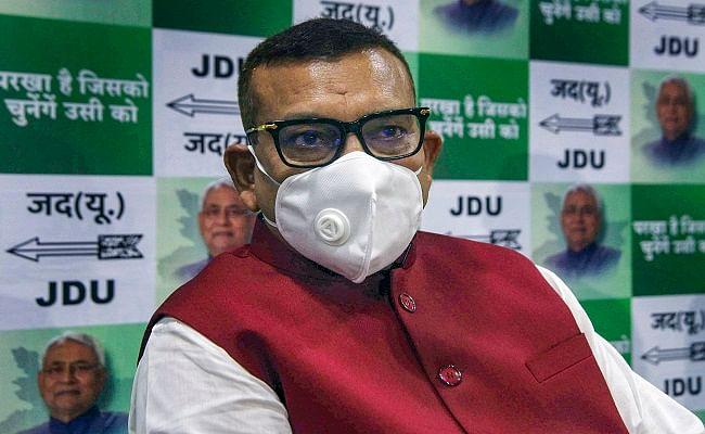 नीतीश कुमार की पार्टी जदयू में शामिल हुए बिहार के पूर्व डीजीपी गुप्तेश्वर पांडेय ने चुनाव लड़ने के सवाल पर दी ये प्रतिक्रिया, आप भी जानिए