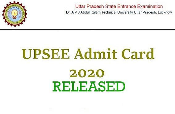 UPSEE 2020 Admit Card:  उत्तर प्रदेश राज्य प्रवेश परीक्षा का प्रवेश पत्र जारी, जाने कैसे डाउनलोड करें एडमिट कार्ड