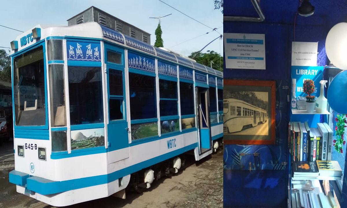 कोलकाता की सड़कों पर ट्राम लाइब्रेरी का आनंद उठाना है, तो जानिए कितना टका करना होगा खर्च