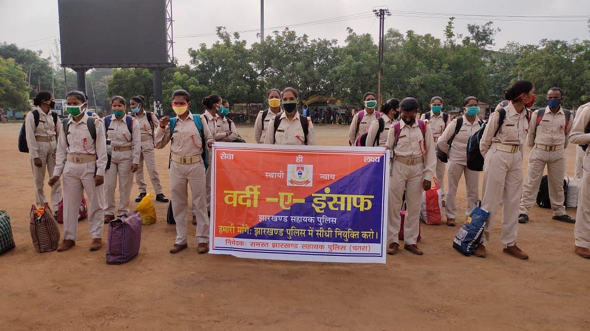Jharkhand News : झारखंड के सहायक पुलिसकर्मियों की सुध ले रही सरकार, पेयजल एवं स्वच्छता मंत्री मिथिलेश ठाकुर मना पायेंगे !