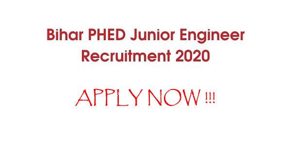 Sarkari Naukri, Bihar PHED JE Recruitment 2020: बिहार में हो रही है जूनियर इंजीनियर के पदों के लिए नियुक्ति, जाने आवेदन प्रक्रिया
