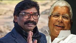 Jharkhand News : सीएम हेमंत सोरेन ने रिम्स जाकर की लालू प्रसाद से मुलाकात
