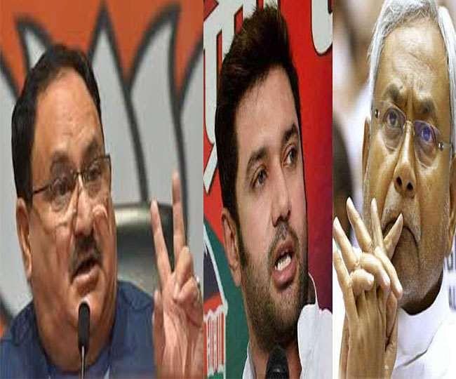 Bihar Vidhan Sabha Election Date 2020 : लोजपा आज खालेगी पत्ता, महाठबंधन में भी फार्मूला तय होने के करीब