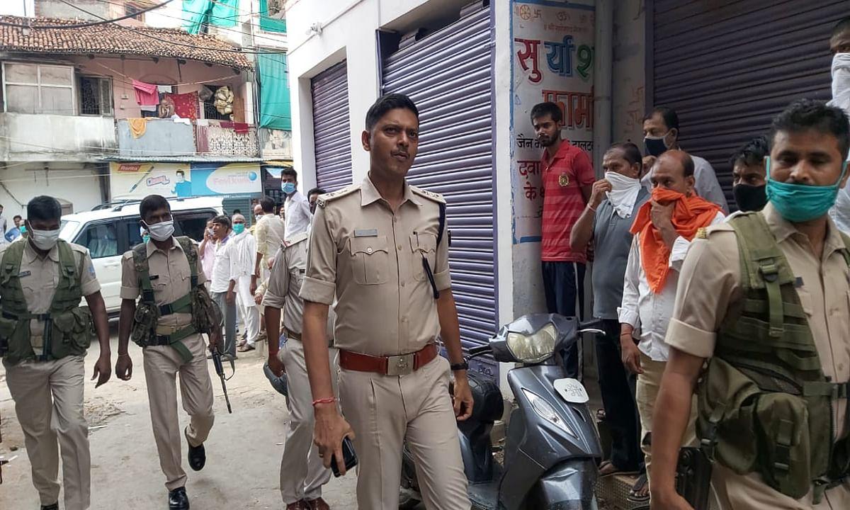 मेदिनीनगर में मुरारी ज्वेलर्स से दिनदहाड़े लाखों की लूट, जांच में जुटी पुलिस
