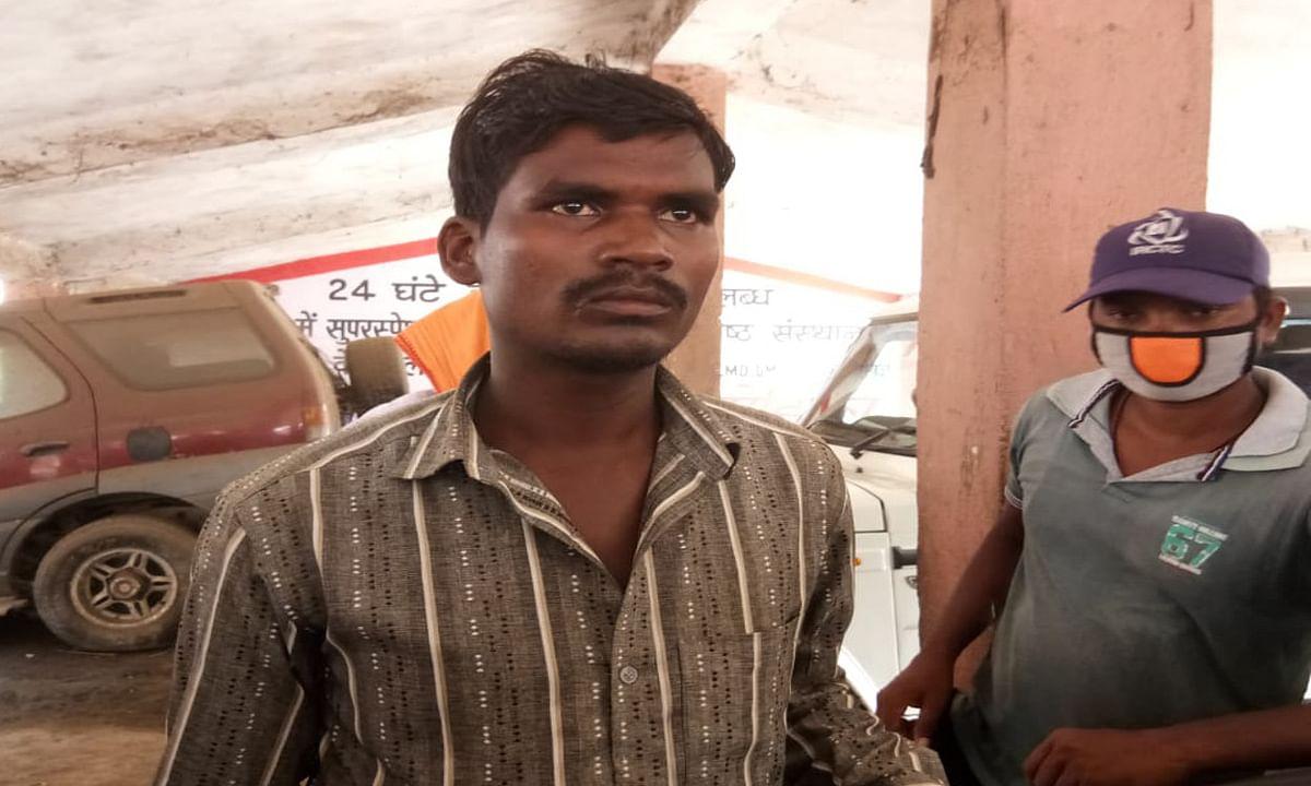 हलुमांड गांव में नकाबपोश अपराधियों ने एक युवक का किया अपहरण, 6 घंटे बाद पुलिस और ग्रामीणों के दबाव में हुआ मुक्त