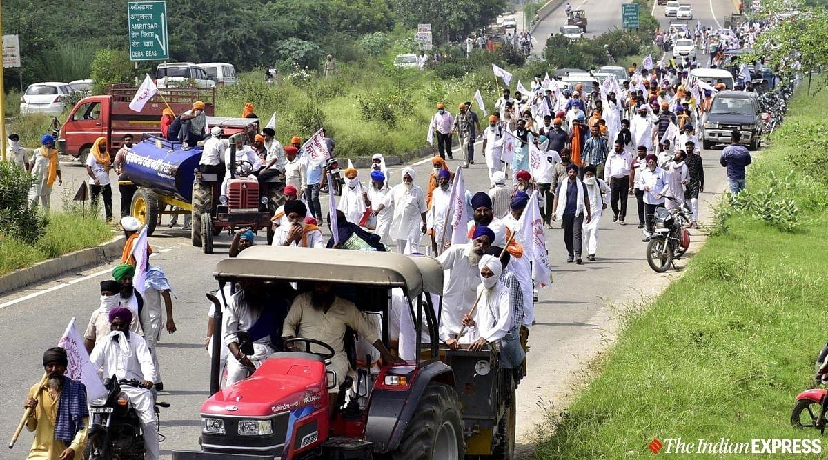 Krishi Bill 2020, Farmers Strike Live Update :  कृषि बिल के खिलाफ किसानों का भारत बंद आज, समर्थन में उतरे कांग्रेस और सपा
