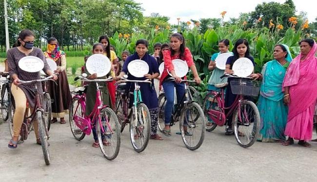 मुजफ्फरपुर में साइकल रैली के जरिये युवा मतदाताओं की भागीदारी की गयी सुनिश्चित