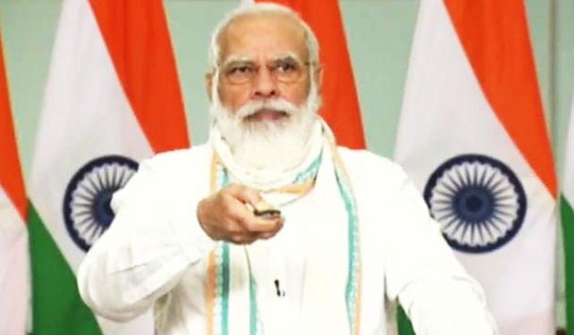 PM नरेंद्र मोदी ने दी बिहार को सौगात, कहा- कानूनों की आड़ में किसानों की मजबूरी का फायदा उठा रहे थे देश में ताकतवर गिरोह