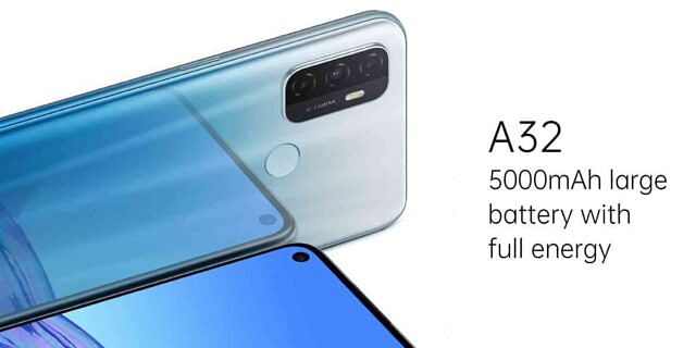 सस्ता स्मार्टफोन : 5,000mAh बैटरी और ट्रिपल रियर कैमरा के साथ लॉन्च हुआ Oppo A32