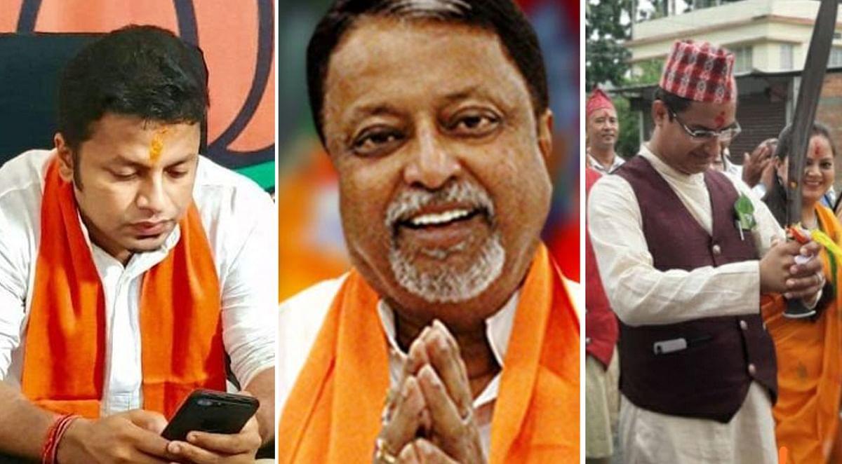 नड्डा की टीम में बढ़ा बंगाल का महत्व, मुकुल उपाध्यक्ष, अनुपम राष्ट्रीय मंत्री एवं राजू बिष्ट बने राष्ट्रीय प्रवक्ता