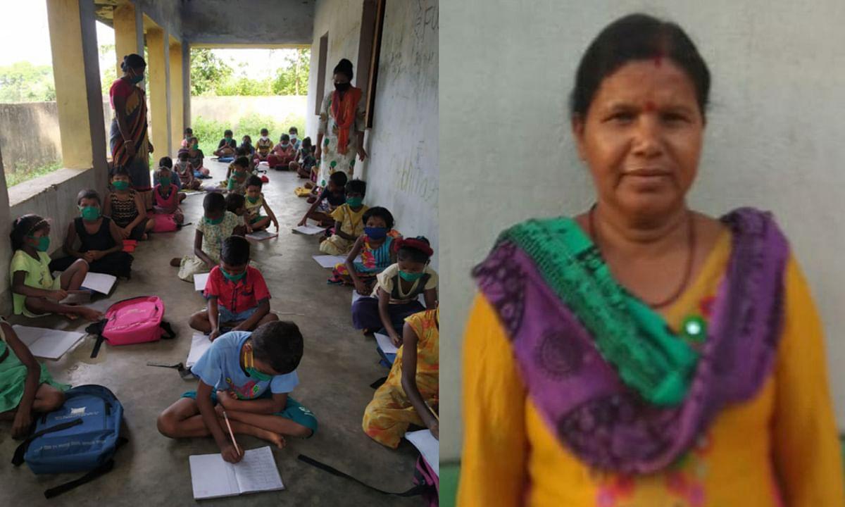 मिसाल : 50 विद्यार्थियों को ओपेन क्लास के जरिये राजदोहा गांव में नि:शुल्क शिक्षा दे रहीं पूर्व मुखिया, जानिए कैसे मिली प्रेरणा