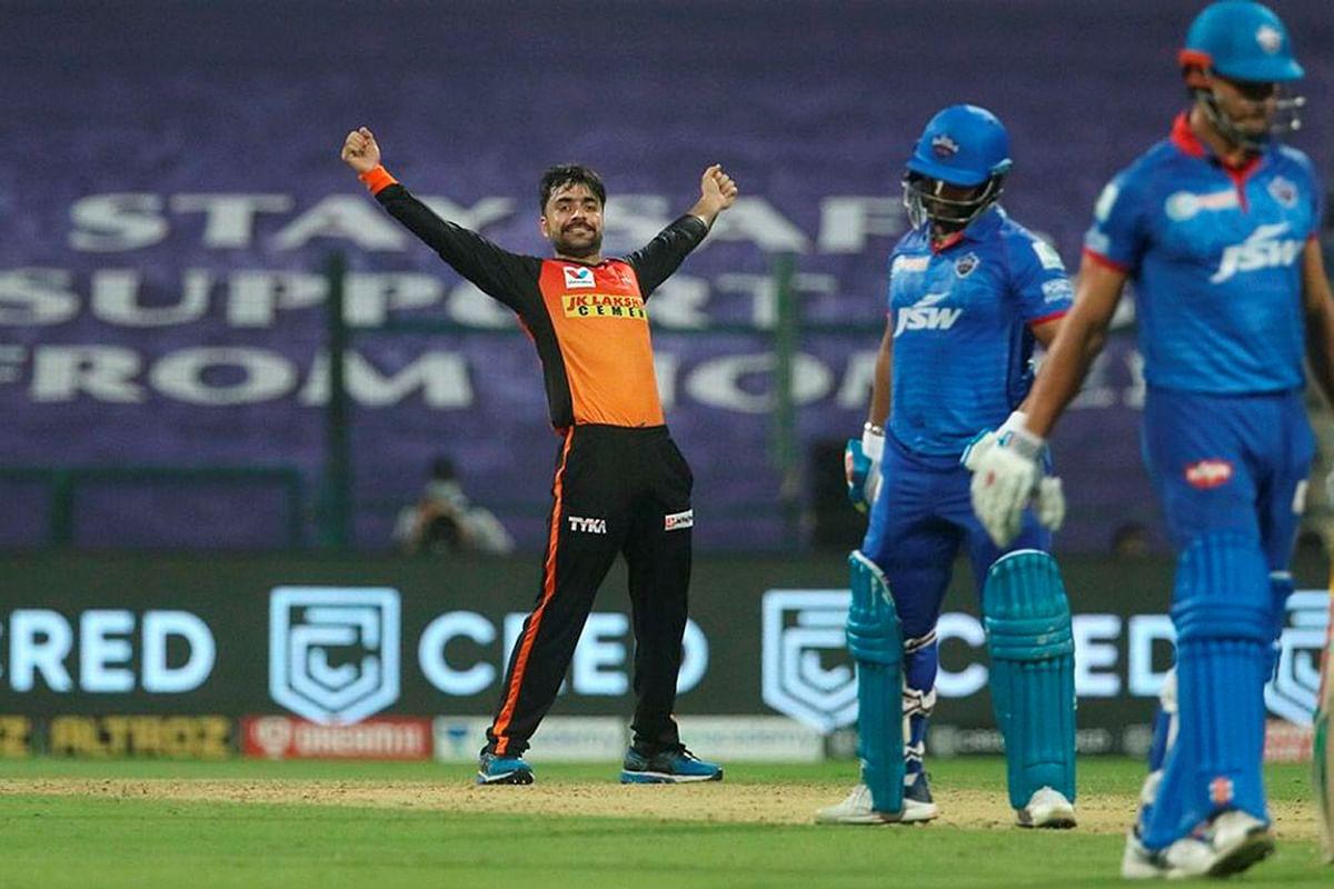 IPL 2020 SRH vs DC : राशिद खान की फिरकी में फंसी दिल्ली, हैदराबाद ने दर्ज की पहली जीत