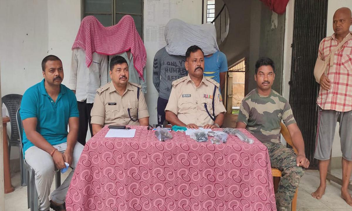 समस्तीपुर से देसी पिस्टल को गुमला में बेचने के फिराक में 2 आर्म्स सप्लायर गिरफ्तार, गया जेल