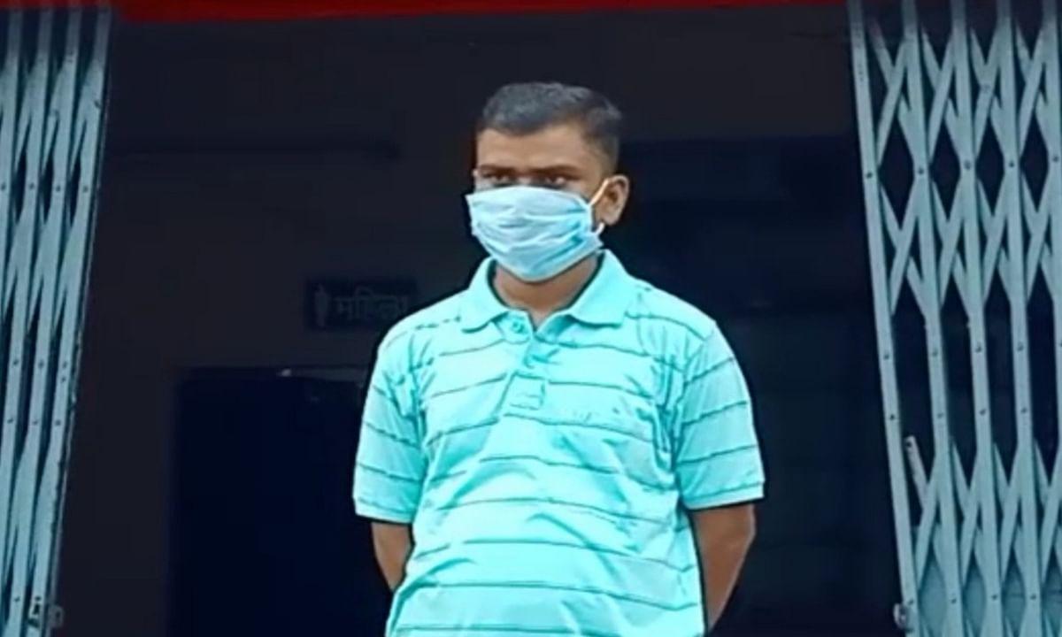 कोडरमा सदर अस्पताल के आइसोलेशन वार्ड से फरार कोरोना संक्रमित बंदी धनबाद में पकड़ाया