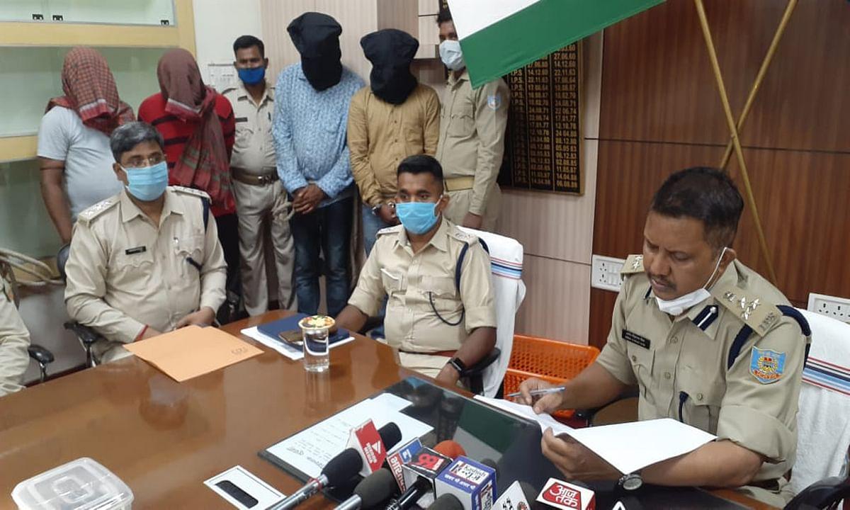 सतीश सिंह हत्याकांड मामले में शूटर समेत 4 आरोपी गिरफ्तार, मास्टरमाइंड अब भी फरार