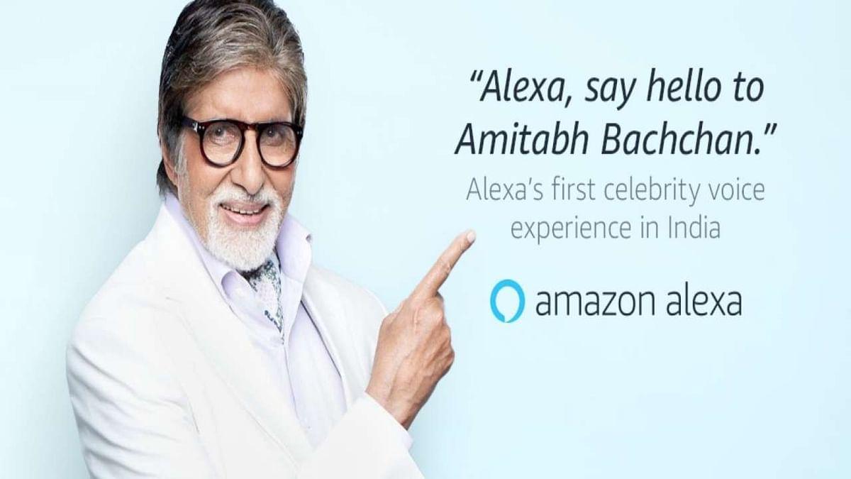 Amazon Alexa की आवाज बनेंगे अमिताभ बच्चन, बताएंगे मौसम की जानकारी, सुनाएंगे चुटकुले और शायरी