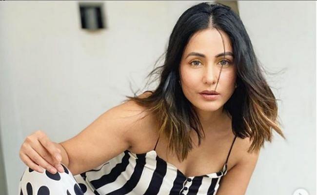 पोल्का डॉट ड्रेस में हिना खान ने शेयर की ये खूबसूरत तसवीर, फैंस बोले- फाइनली आपने ये किया...