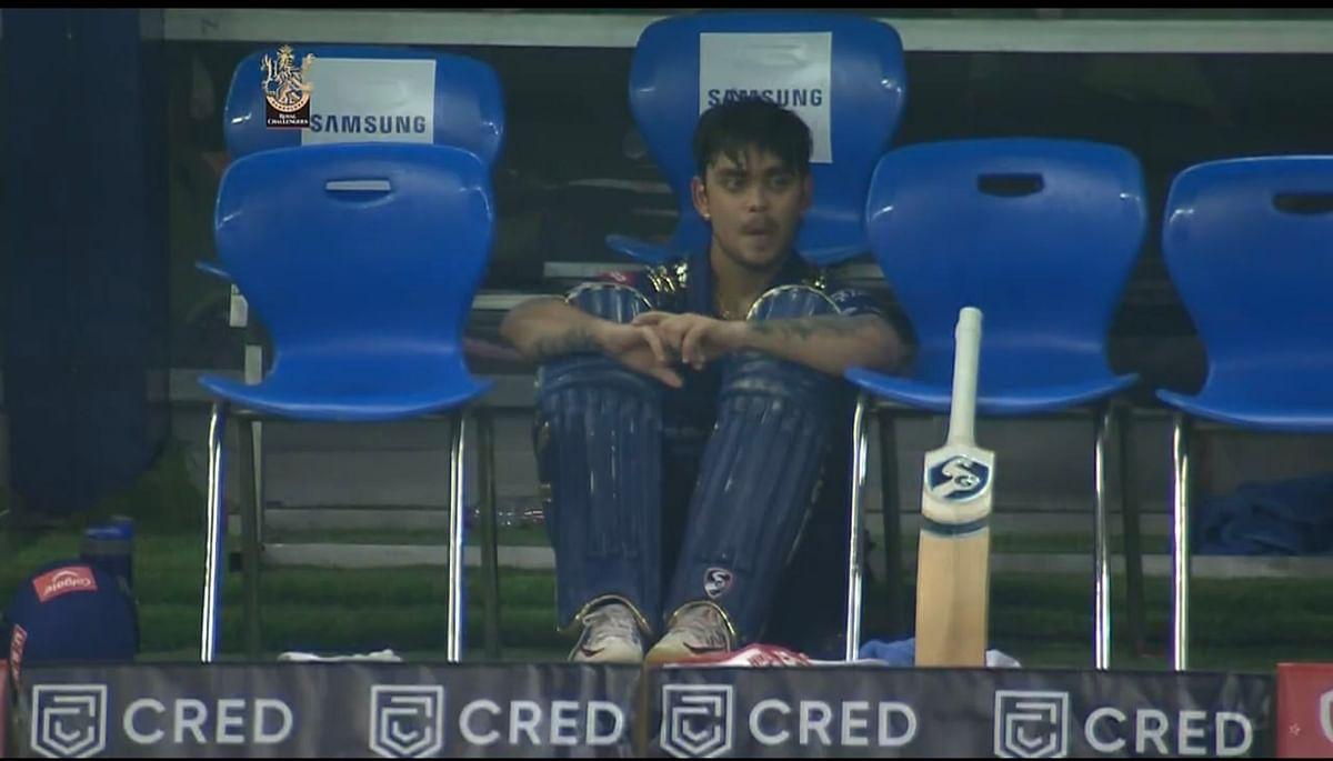 IPL 2022 : 99 रन बनाने के बाद भी हारी मुंबई तो भावुक हुए रांची के ईशान किशन, वायरल हो रही है यह तस्वीर