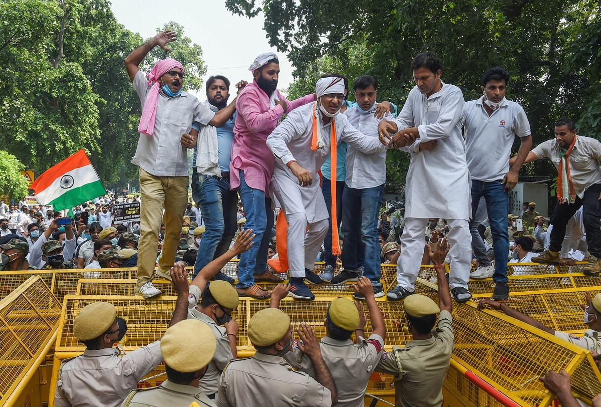 कृषि बिल के विरोध में किसानों के प्रदर्शन को कांग्रेस का सपोर्ट, दिल्ली में सुरक्षा चाक-चौबंद