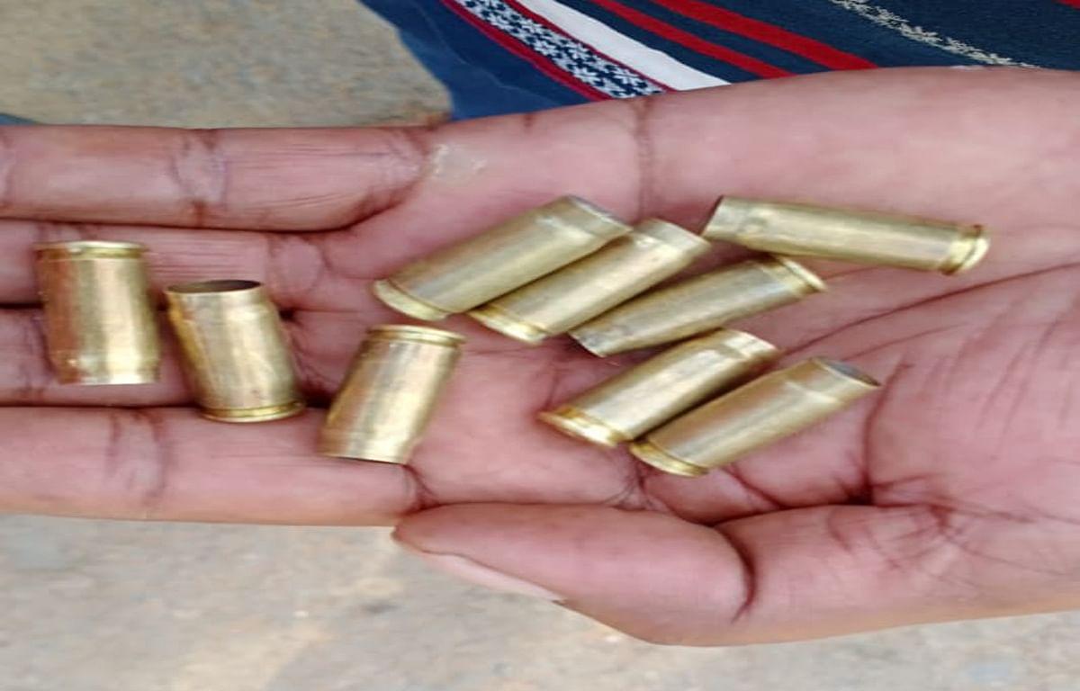 केरेडारी में नक्सली संगठन टीपीसी के सदस्य को गोली मार कर हत्या, जिंदा कारतूस और खोखा बरामद