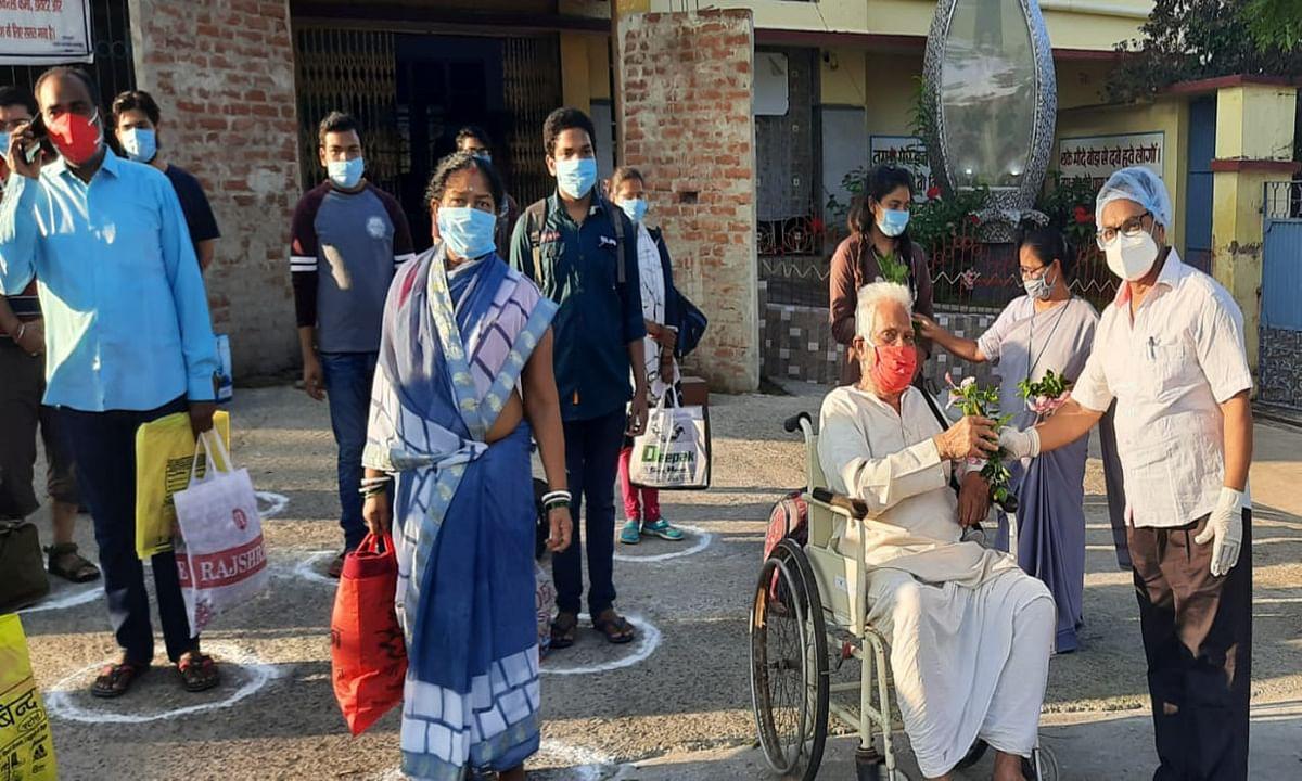Coronavirus In Jharkhand Update :  झारखंड में कोरोना संक्रमण के 517 नये मामले मिले, 607 हुए ठीक