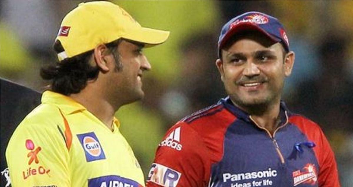 सहवाग ने चेन्नई की जीत पर की बड़ी टिप्पणी, कहा - 'कर्ण-अर्जुन' ने धौनी को बचा लिया, नहीं तो...