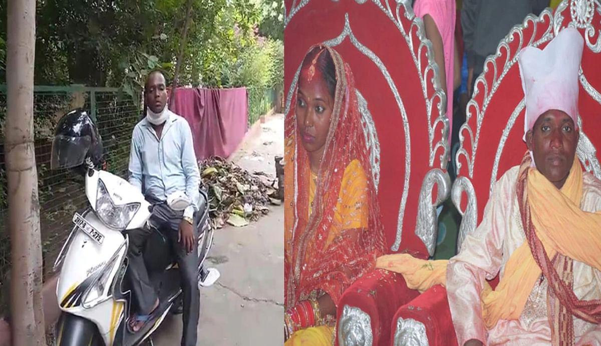 Coronavirus Update Jharkhand : गर्भवती पत्नी को परीक्षा दिलाने 1300 किमी स्कूटी चलाकर गोड्डा से ग्वालियर पहुंचा धनंजय मांझी