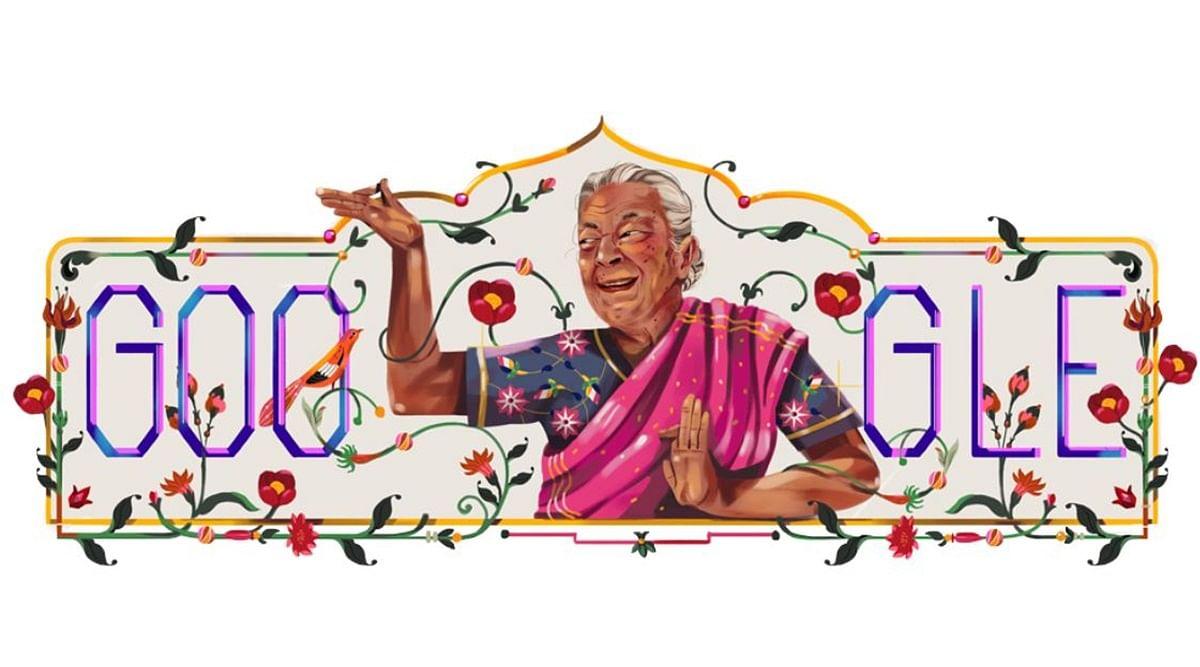 Google Doodle On Zohra Sehgal: जोहरा सहगल पर गूगल ने बनाया ये खास Doodle, अमिताभ बच्चन और शाहरुख खान के साथ भी किया था काम