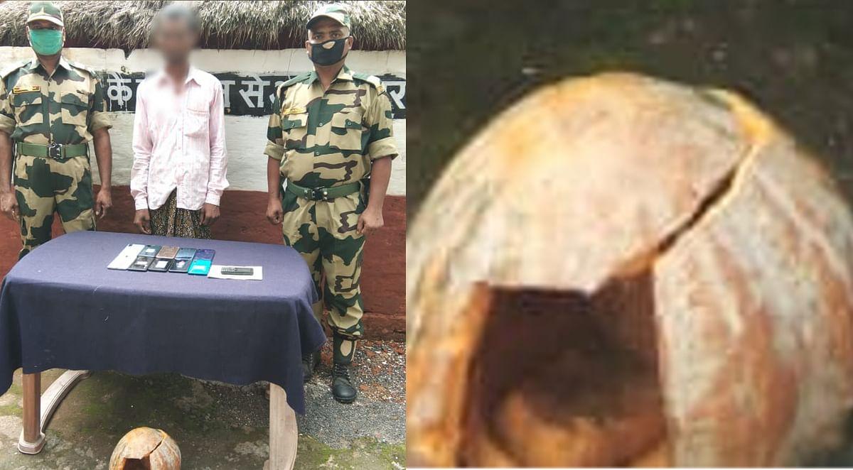 कद्दू में भरकर बांग्लादेश भेजे जा रहे मोबाइल, कॉस्मेटिक्स व ड्रग्स की भी हो रही तस्करी, बीएसएफ ने ऐसे किया खुलासा