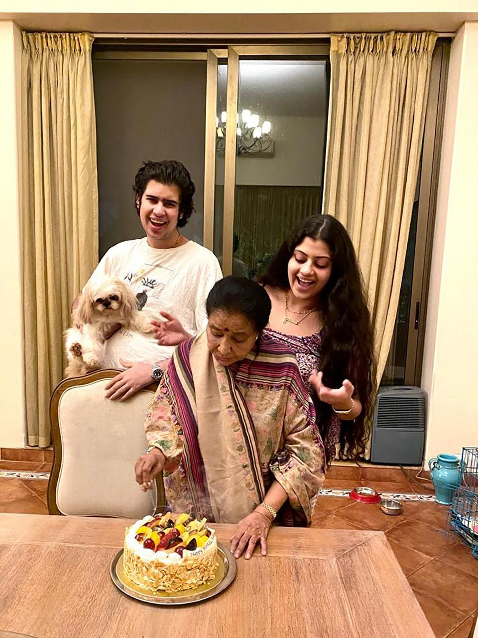 Asha Bhosle birthday