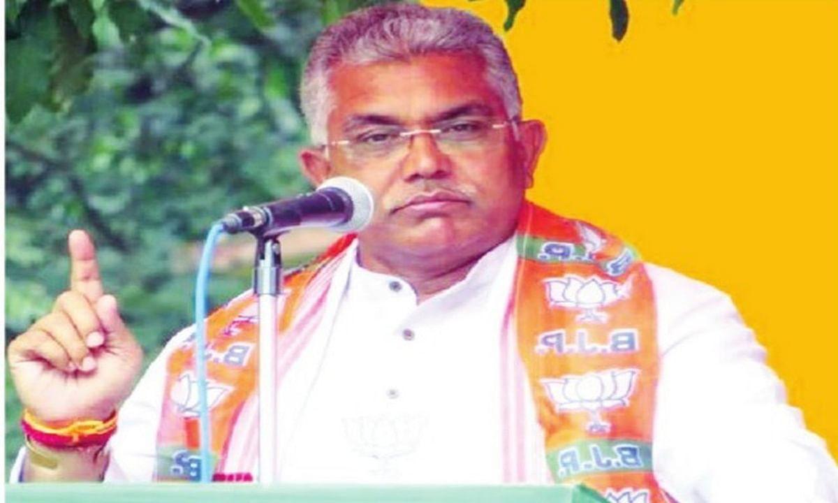 दूसरा कश्मीर बन गया है बंगाल, भाजपा अध्यक्ष दिलीप घोष ने ममता बनर्जी पर साधा निशाना