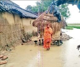 पंडई, ओरिया, दोहरम समेत पहाड़ी नदियां उफान पर, निचले इलाकों में घुसा पानी