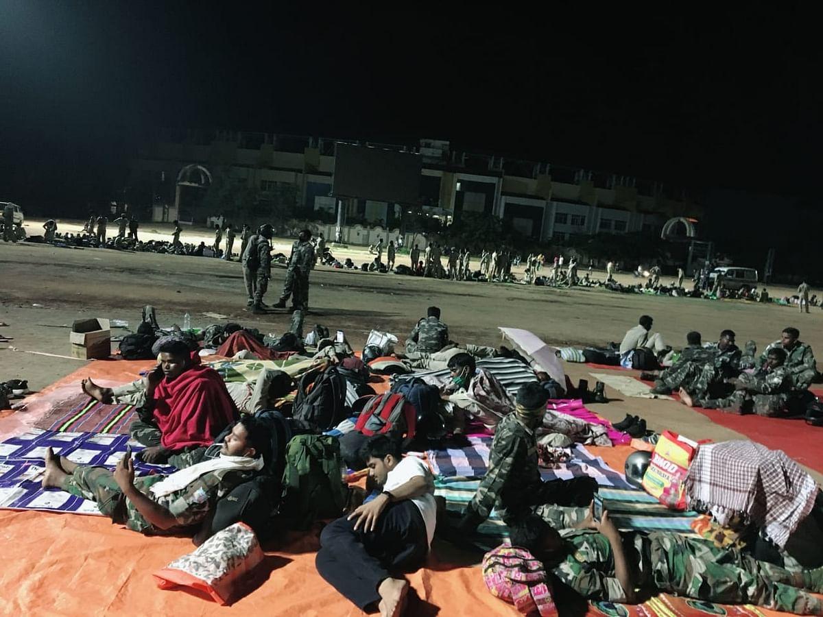IN PICS: मोरहाबादी में स्थायी नौकरी की मांग पर अड़े 1000 सहायक पुलिसकर्मियों पर बड़ी कार्रवाई, ऐसे काटते थे दिन और रात