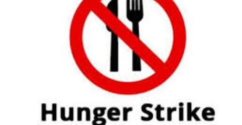 Ramgarh news : पीवीयूएनएल के खिलाफ भूख हड़ताल जारी, हालत बिगड़ी