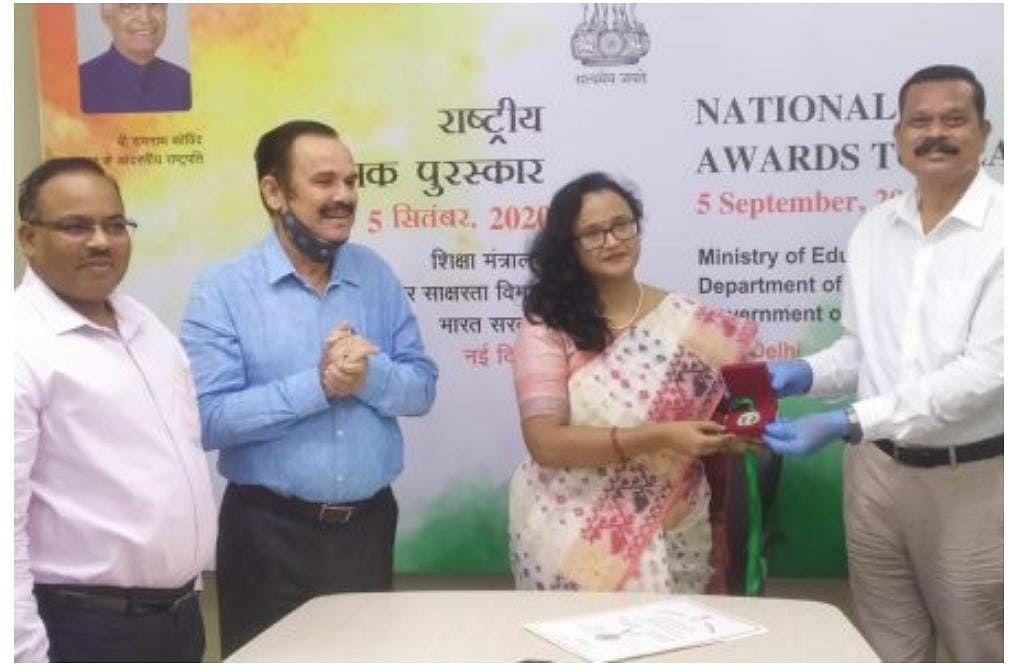 Teachers Day 2020 : जमशेदपुर की शिक्षिका इशिता डे को मिला राष्ट्रीय शिक्षक पुरस्कार