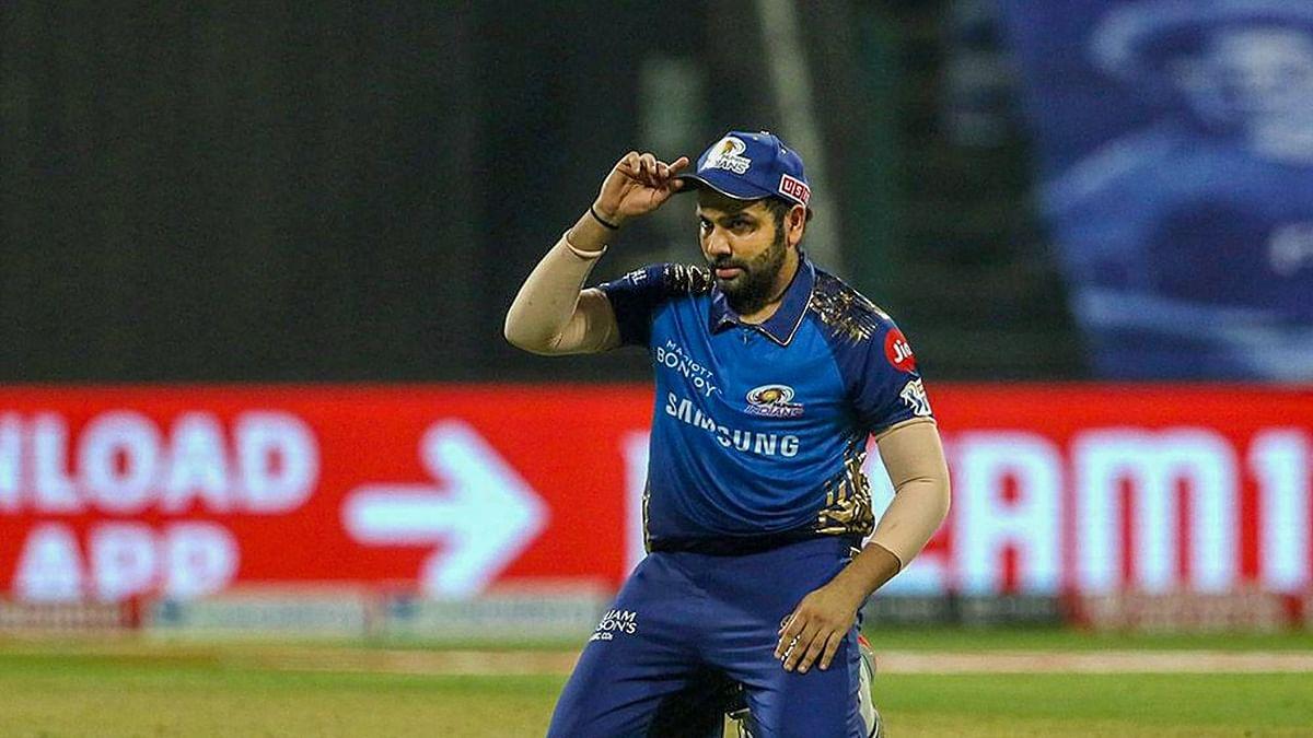IPL 2021, MI vs DC : दिल्ली से मिली हार के बाद रोहित शर्मा को एक और झटका, अब मैच रेफरी से मिली बड़ी सजा