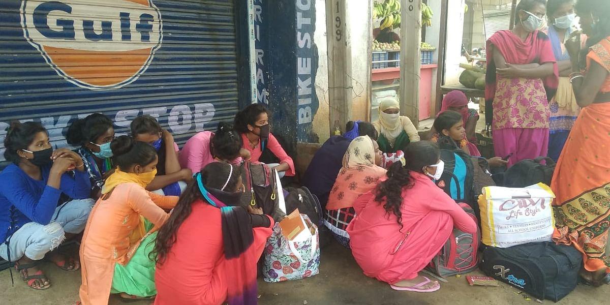 Human Trafficking in Jharkhand: मुक्त करायी गयी नाबालिग समेत सभी 17 लड़कियों को दिया सेवा संस्थान बरियातू भेज दिया गया.