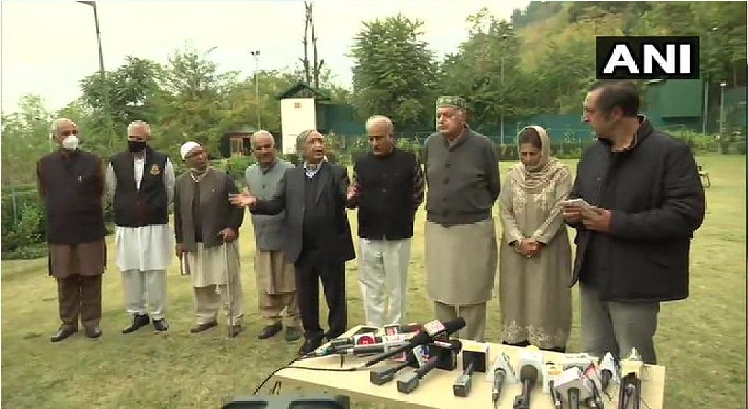 jammu Kashmir:  हम देश विरोधी नहीं, हमारा लक्ष्य अधिकारों की वापसी :  फारुक अब्दुल्ला