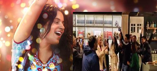 Kangana Ranaut Dance Video: कंगना और रंगोली ने लगाया तेजस के डायरेक्टर के साथ शराबी आंखें पर ठुमका, यहां देखें Viral Video